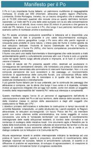 Manifesto per il Po-1
